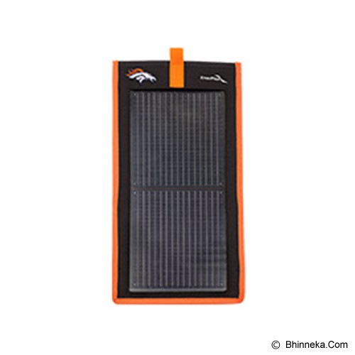ENERPLEX Kickr II Compact and Flexible Solar Charger - Orange - Portable Charger / Power Bank