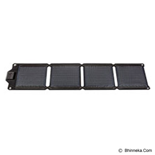 ENERPLEX Kickr IV Compact and Flexible Solar Charger - Black - Portable Charger / Power Bank