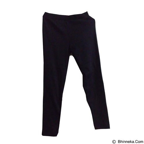 ENYES SHOP Legging Polos [ENY35009] - Black - Legging Wanita