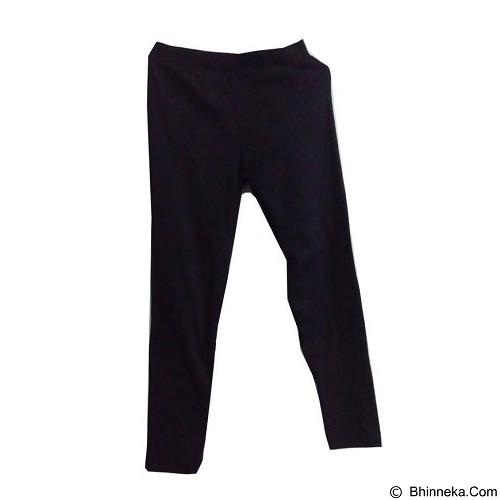 ENYES SHOP Legging Polos [ENY35013] - Black (Merchant) - Legging Wanita