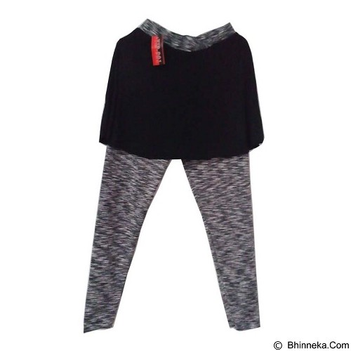 ENYES SHOP Rok Legging [ENY35014] - Grey (Merchant) - Legging Wanita