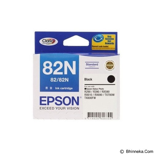EPSON Black Ink Cartridge [C13T112190] - Tinta Printer Epson