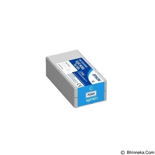 EPSON Cyan Ink Cartridge  GJIC4-C Liatris-II [C13S020560] - Tinta Printer Epson