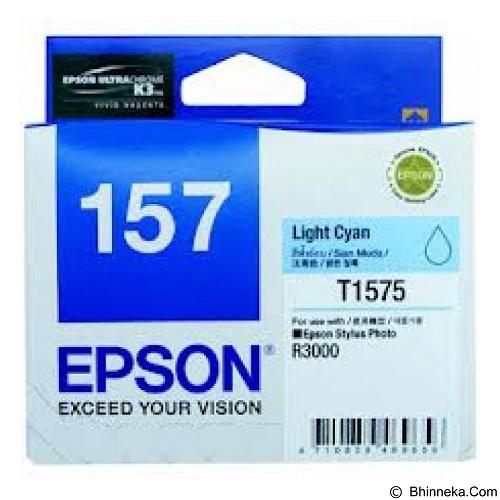 EPSON Light Cyan Ink Cartridge [C13T157590] - Tinta Printer Epson