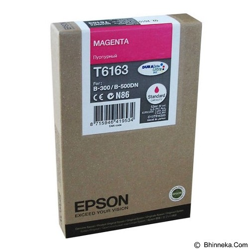 EPSON Magenta Ink Cartridge [C13T616300] - Tinta Printer Epson