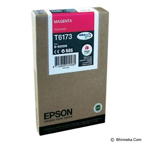 EPSON Magenta Ink Cartridge [C13T617300] - Tinta Printer Epson