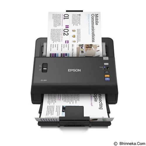 EPSON WorkForce DS-860 - Scanner Manual Feeding