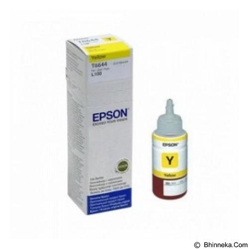 EPSON Yellow Ink Cartridge [T6644] (Merchant) - Tinta Printer Epson
