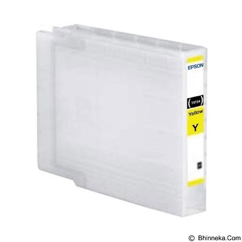 EPSON Yellow STD Ink Cartridge [C13T752490] - Tinta Printer Epson