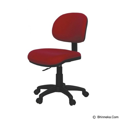 ERGOSIT Jasmine - Red - Kursi Kantor