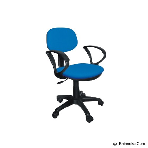 ERGOSIT OR Seat with Arm - Blue - Kursi Kantor