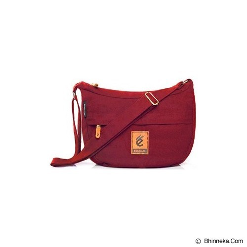 ESGOTADO Faixo Quinto - Maroon - Notebook Shoulder / Sling Bag