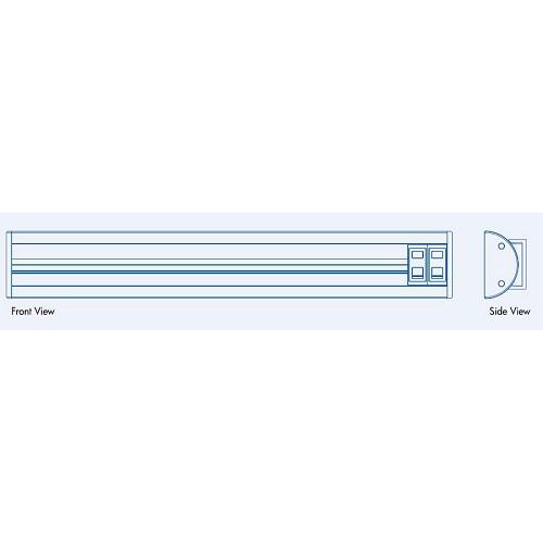 EUBIQ VSF1 CMB Mounting Base 1000 - Premium - Power Track