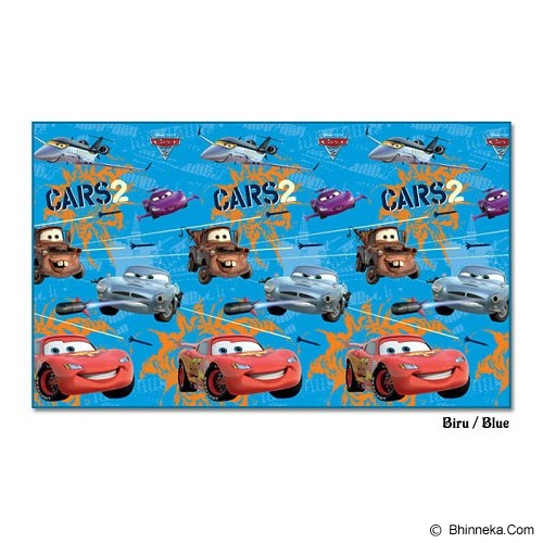 EVAMAT Tikar Anak Cars 2 Secret Mission - Blue - Gym and Playmate for Baby / Kids