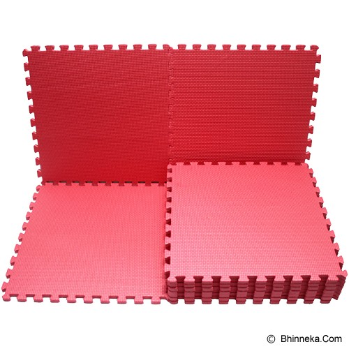 EVAMATS Karpet Puzzle - Red - Gym and Playmate for Baby / Kids