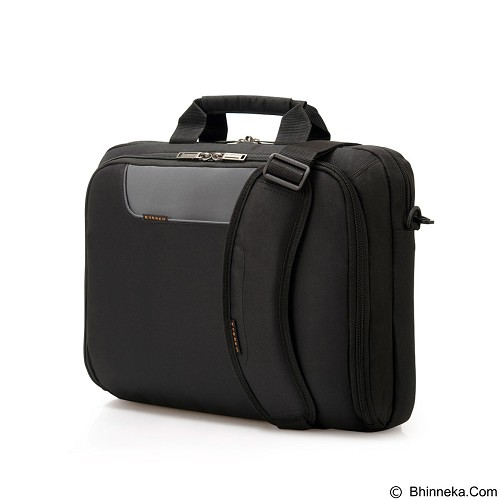 EVERKI Laptop Bag [EKB407NCH14] - Black (Merchant) - Notebook Shoulder / Sling Bag