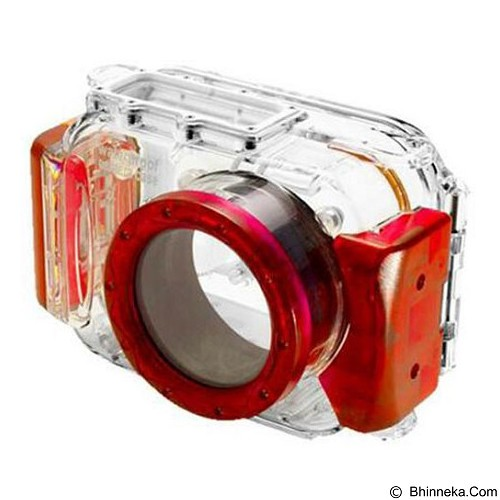 EVERSHOW Universal Pocket Camera Underwater - Red (Merchant) - Camcorder Lens Cap and Housing Protection