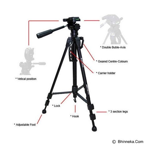 EXCELL Motto 2828 (Merchant) - Tripod Combo With Head