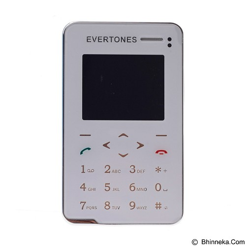 EXCLUSIVE IMPORTS ET-106I Mini Ultra Slim Touch Screen Mobile Phone Card Size [B02010000049501] - Handphone Gsm
