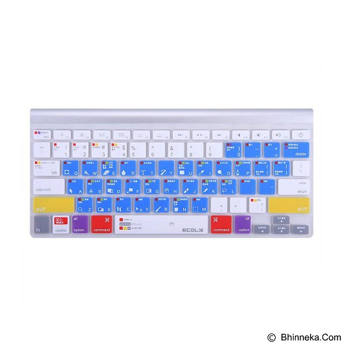 EXCLUSIVE IMPORTS Ecola EA010S PS Version Patent Air Guiding Keyboard [A04010000020001] - Keyboard Cover Protector