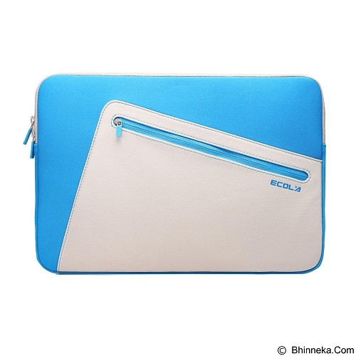 EXCLUSIVE IMPORTS Ecola In-Es11 Elegant Style PU & Neoprene Laptop [I01030000630701] - Notebook Sleeve
