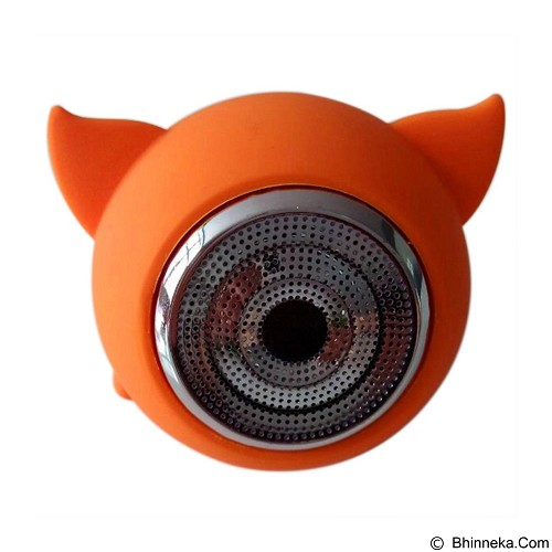EXCLUSIVE IMPORTS GH 6016 Mini Multi-function Protable Bluetooth Speaker [C04070000966401] - Orange - Speaker Bluetooth & Wireless