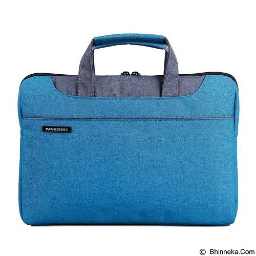 EXCLUSIVE IMPORTS Kingsons KS3093W Hand Shoulder Bag for 13.3 Inch [I01030000050602] - Blue - Notebook Carrying Case