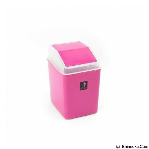 EXONESTORE Tempat Sampah Keren - Pink (Merchant) - Keranjang Sampah