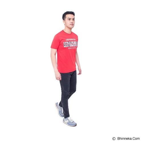 F&P T Shirt Japanese Diversity Size M [007-TS.003] - Red - Kaos Pria