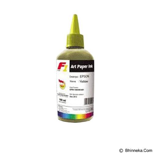 F1 Ink For Epson ArtPaper 100ml - Yellow (Merchant) - Tinta Printer Refill