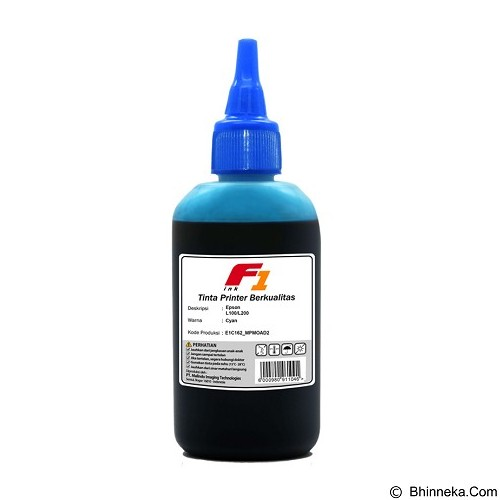 F1 Ink For Printer Epson L Series - Cyan (Merchant) - Tinta Printer Refill