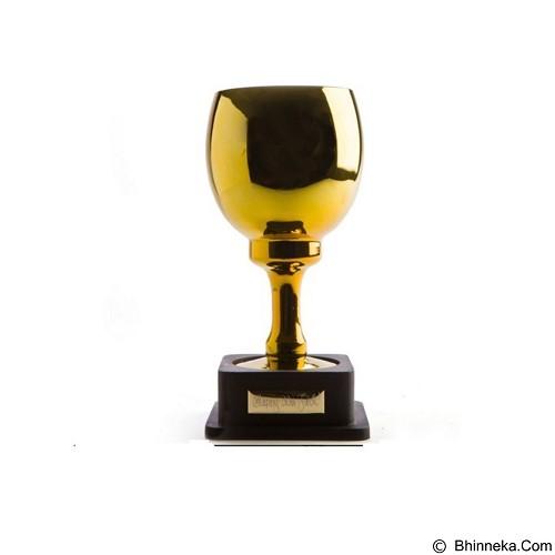 FANCY Gelas Mug Unik 28cm Pimp Trophy Goblet With Stand [UAHBC65] - Gold (Merchant) - Gelas
