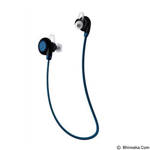 FANCY Sport Bluetooth Earphone with Microphone BT-108 [CSI-OMSK3GBK] - Blue - Headset Bluetooth