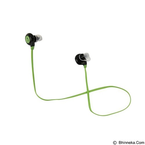 FANCY Sport Bluetooth Earphone with Microphone BT-108 [CSI-OMSK3GBK] - Green - Headset Bluetooth