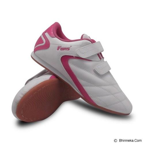 FANS Brio P Size 33 - White Pink - Sepatu Anak