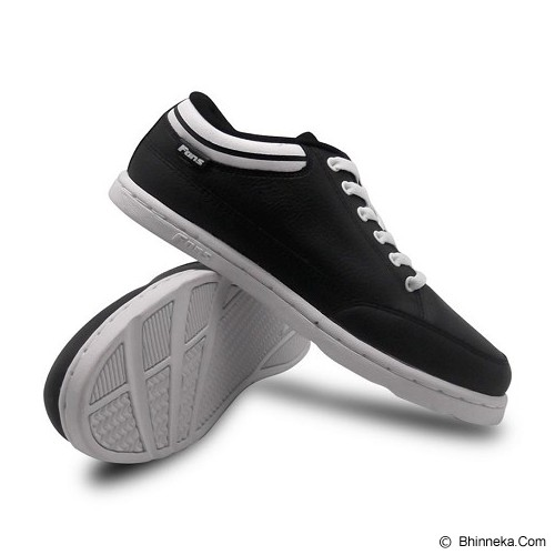 FANS Mulo BW Size 42 - Black White - Sneakers Pria