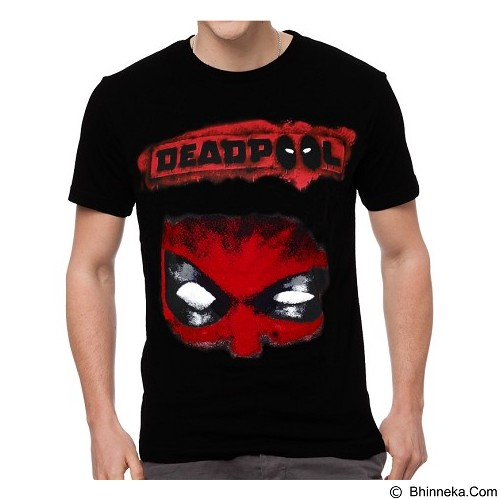 FANTASIA T-Shirt Pria Deadpool Mercs For Money Size L - Kaos Pria
