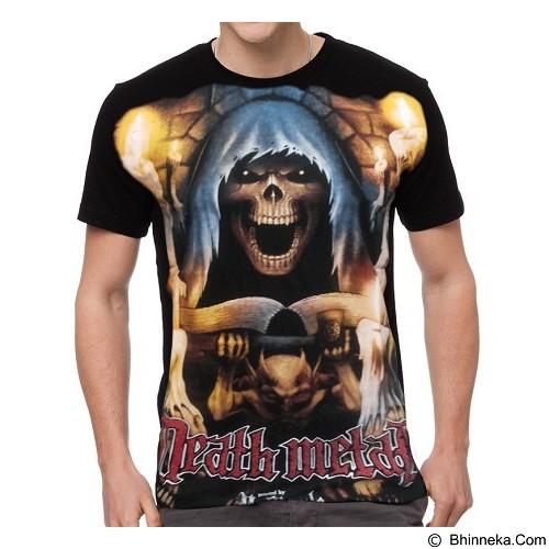 FANTASIA T-Shirt Pria Death Metal Size L