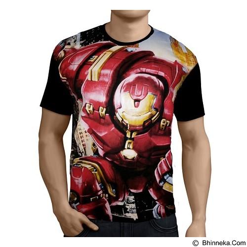 FANTASIA T-Shirt Pria Iron Man Hulkbuster Size M - Kaos Pria