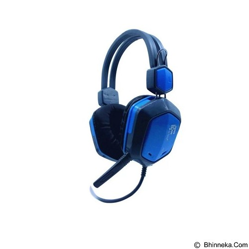 FANTECH Headset Gaming HG1 - Blue (Merchant) - Mousepad Gaming