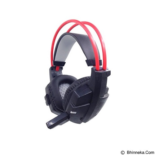 FANTECH Headset Gaming HG4 - Black/Red (Merchant) - Mousepad Gaming