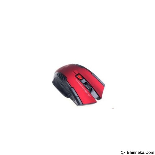 FANTECH Mouse Wireless W4 [FTM W529] - Red (Merchant) - Gaming Mouse