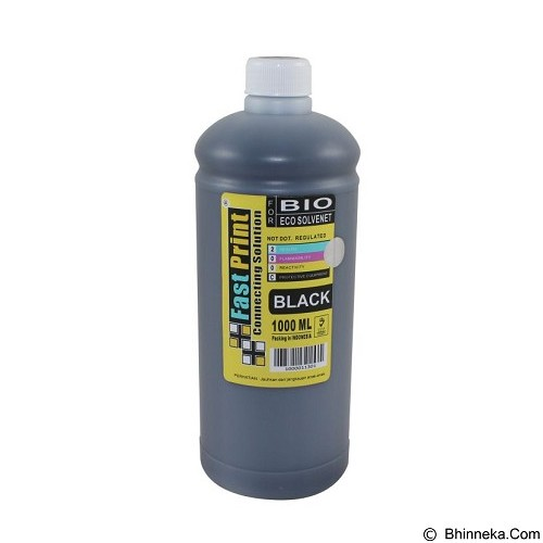 FASTPRINT Bio Eco Solvent Black 1000ml - Tinta Printer Refill