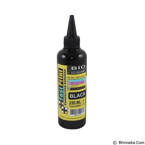 FASTPRINT Bio Eco Solvent 250ml - Black - Tinta Printer Refill