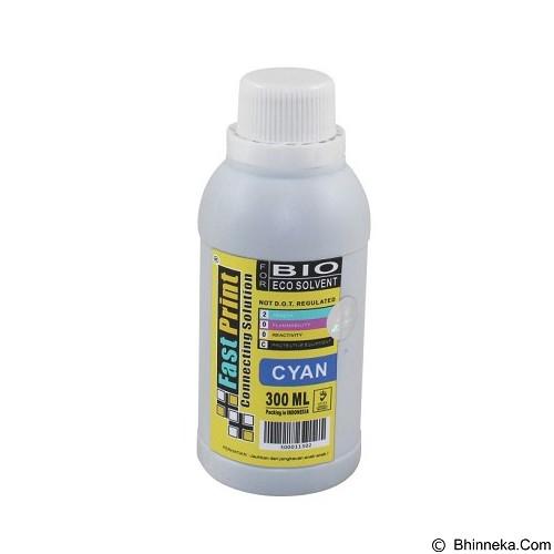 FASTPRINT Bio Eco Solvent Cyan 300ml - Tinta Printer Refill