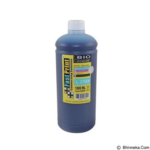 FASTPRINT Bio Eco Solvent Light Cyan 1000ml - Tinta Printer Refill