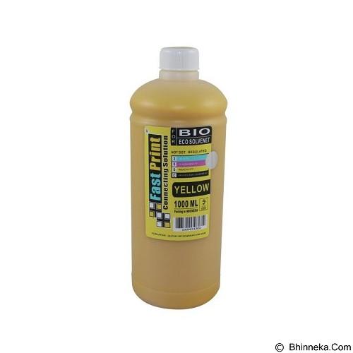 FASTPRINT Bio Eco Solvent Yellow 1000ml - Tinta Printer Epson