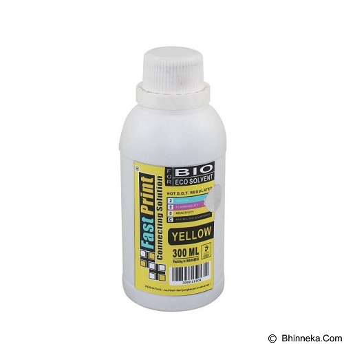 FASTPRINT Bio Eco Solvent Yellow 300ml - Tinta Printer Epson
