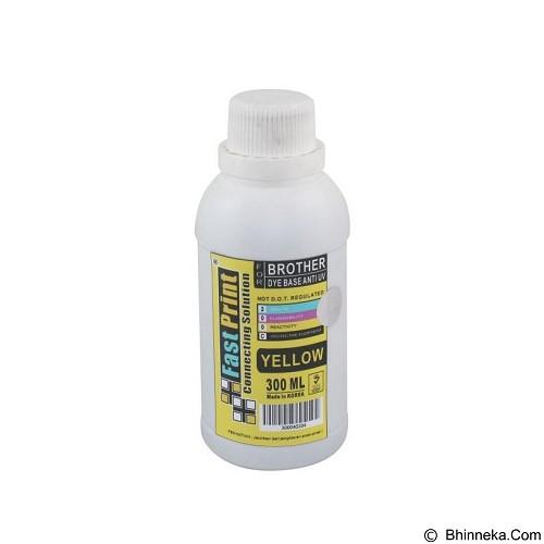 FASTPRINT Dye Based Anti UV Brother 300ml - Yellow - Tinta Printer Refill