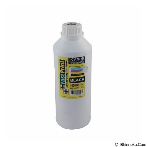 FASTPRINT Dye Based Anti UV Canon 1000ml - Black - Tinta Printer Refill